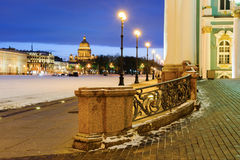 Palace square, St Petersburg Royalty Free Stock Image