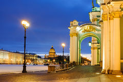 Palace square, St Petersburg Stock Photography