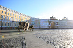 Palace Square in St.Petersburg Royalty Free Stock Photography