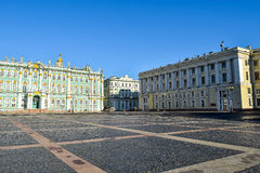 Palace Square in St. Petersburg, Russia Royalty Free Stock Photography