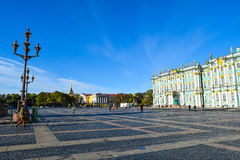 Palace Square in St. Petersburg, Russia Stock Image