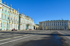 Palace Square in St. Petersburg, Russia Stock Photos
