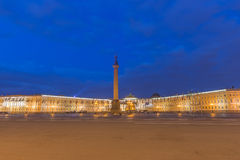 Palace Square at St.Petersburg, Russia Stock Photography