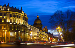 Palace square , St. Petersburg, Russia Royalty Free Stock Photo