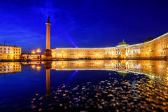 Palace Square, St Petersburg, Russia Stock Image