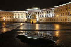 Palace Square, St. Petersburg, Russia Stock Images