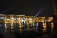Palace square in St. Petersburg. Royalty Free Stock Photos