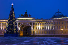 Palace square, St. Petersburg, Russia Royalty Free Stock Photography