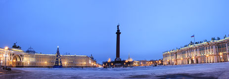 Palace square, St. Petersburg, Russia Royalty Free Stock Photo