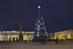 Palace square, St. Petersburg, Russia Stock Photography