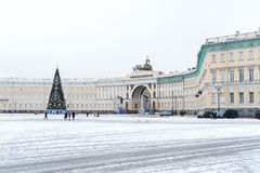 Palace Square. Royalty Free Stock Photography