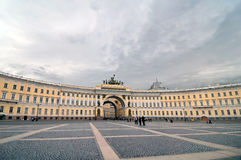 Palace Square wide view Stock Images