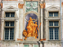 Palace of St. George in Genoa,Italy Royalty Free Stock Photos