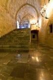 Palace of st John knights at Rhodes Stock Photo
