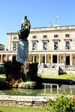 Palace of St. Michael and St. George in Corfu Royalty Free Stock Photos