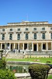 Palace of St. Michael and St. George in Corfu Stock Image