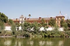 Palace of St. Telmo in Sevilla Stock Photos