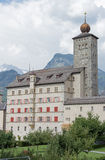 Palace Stockalper, Brig, Valais, Switzerland Royalty Free Stock Image