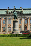 Palace in Stockholm. Sweden, Swedish House of Nobility Stock Photos