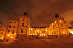 Palace in Stockholm Stock Images