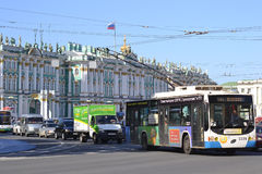Palace street, Saint Petersburg Stock Photos