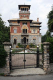 Palace at Stresa on lake Maggiore Royalty Free Stock Photography