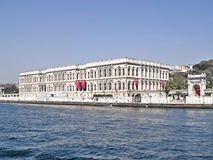 Palace of the sultans. On the shores of the Bosphorus - Istanbul - Turkey Stock Photos