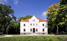 Palace in Szreniawa Stock Images