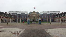Palace t Loo Beatrix Queen. Palace 't Loo in the Netherlands stock photo
