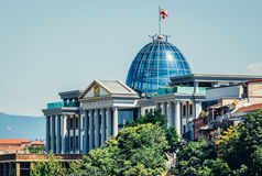 Palace in Tbilisi Stock Photo