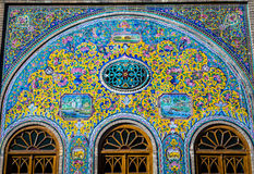 Palace in Tehran Stock Photography