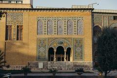 Palace in Teheran royalty free stock photos