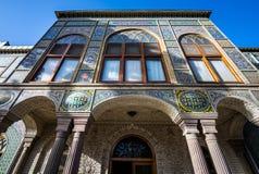 Palace in Teheran stock photos