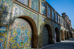 Palace in Teheran royalty free stock images