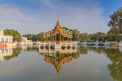 Palace in Thailand royalty free stock photo