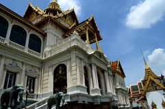 Palace in Thailand Royalty Free Stock Photography