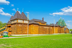 The Palace of timbers Stock Photos