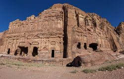 The Palace tomb and the Corinthian tomb, two of the Royal Tombs, Stock Image