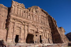 The Palace tomb. One of the Royal Tombs, Petra Stock Image