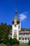 Palace Tower. Peles Palace Tower In Sinaia, Romania Stock Photos