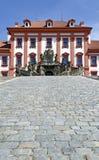 Palace of Troja Stock Photos