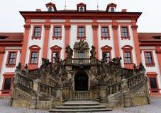 Palace Troja Stock Photo