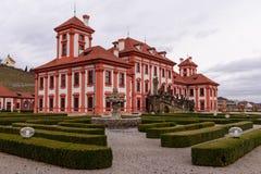 Palace Troja Royalty Free Stock Photos