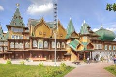 A palace of tsar of Aleksei Mikhajlovich Romanov in Kolomenskoye Stock Image