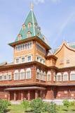 A palace of tsar of Aleksei Mikhajlovich Romanov in Kolomenskoye Royalty Free Stock Photography