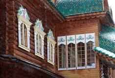 Palace of Tsar Alexei Mikhailovich in Kolomenskoye. Royalty Free Stock Photography