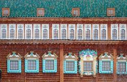 Palace of Tsar Alexei Mikhailovich in Kolomenskoye. Royalty Free Stock Photo