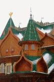 Palace of Tsar Alexei Mikhailovich in Kolomenskoye. Royalty Free Stock Photos