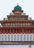 Palace of Tsar Alexei Mikhailovich in Kolomenskoye. Stock Photo
