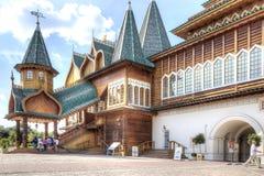 Palace of Tsar Alexei Mikhailovich Romanov is in Kolomenskoye Royalty Free Stock Photography